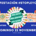 #StopLeyCelaá. Manifestación con vehículos en Oviedo y Gijón. ¡Participa!